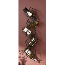 <strong>Wildon Home ®</strong> Carini 5 Bottle Wall Mounted Wine Rack