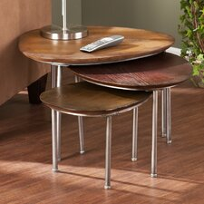 <strong>Wildon Home ®</strong> Jasper 3 Piece Nesting Tables