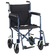 Deluxe Fly-Weight Transport Wheelchair