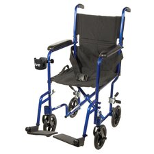 Aluminum Lightweight Transport Wheelchair