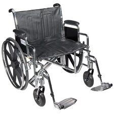 <strong>Drive Medical</strong> Sentra EC Heavy Duty Dual Axle Bariatric Wheelchair
