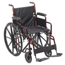 "<strong>Drive Medical</strong> Rebel 18"" Standard Wheelchair"