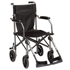 "Travelite 18"" Ultra Lightweight Transport Wheelchair"