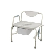 Oversized Heavy Duty Bariatric Drop Arm Commode