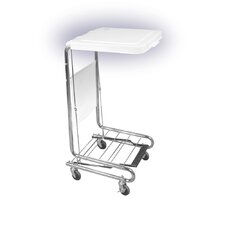 <strong>Drive Medical</strong> Hamper Stand with Poly Coated Steel Lid