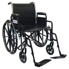 Silver Sport 2 Wheelchair and Anti-Tipper without Wheels