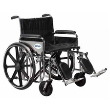 Sentra Extra Heavy Duty Dual Axle Bariatric Transport Wheelchair