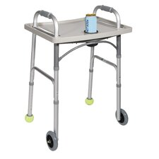<strong>Drive Medical</strong> Universal Walker Tray with Cup Holder in Gray