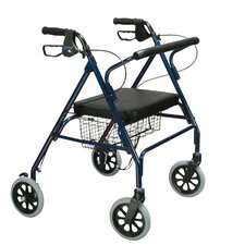 <strong>Drive Medical</strong> Heavy Duty Bariatric Rollator Walker with Large Padded Seat