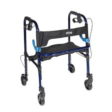 <strong>Drive Medical</strong> Deluxe Clever Lite Rollator Walker with Casters