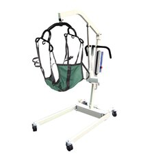 Bariatric Electric Patient Lift in White