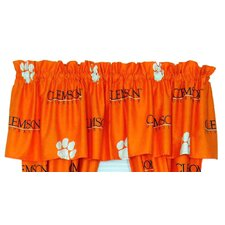 "NCAA Printed 84"" Curtain Valance"