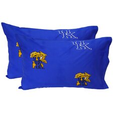 Kentucky Wildcats King Pillow Case Set