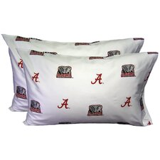 NCAA Pillow Case Set