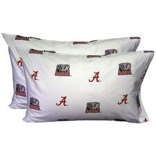 NCAA Pillowcase Set