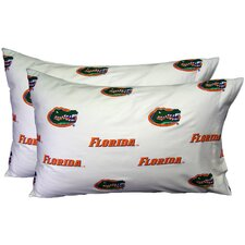 NCAA Pillowcase Set