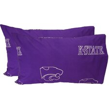 Kansas State Wildcats Pillow Case Set