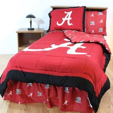 <strong>College Covers</strong> NCAA Bed in a Bag with Team Colored Sheets Collection