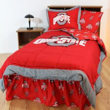 NCAA Ohio State Bed in a Bag - With White Sheets