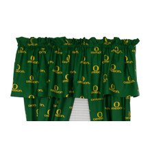 NCAA Cotton Printed Curtain Valance