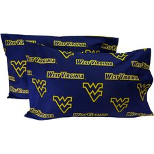 West Virginia Mountaineers Pillow Case Set