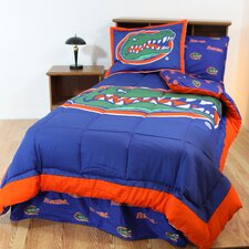 NCAA Florida Gators Bed in a Bag with Team Colored Sheets Collection
