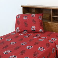 NCAA South Carolina Sheet Set