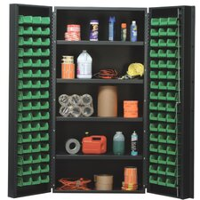 "36"" Wide Welded Storage Cabinet with 96 Ultra Bins"