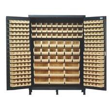 "84"" H x 60"" W x 24"" D Super Wide Heavy Duty Storage Cabinet"