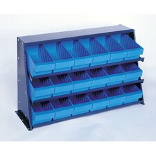 Bench Pick Rack Storage Systems with Various Euro Bins