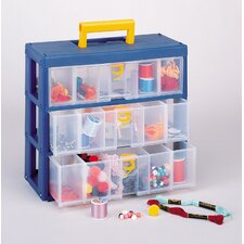 Clear Drawer Storage Unit