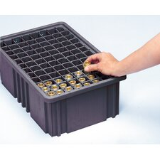 Conductive Dividable Grid Storage Container Long Dividers for DG93080CO (Set of 6)