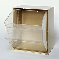 Clear Tip Out Bins (1 Compartment)