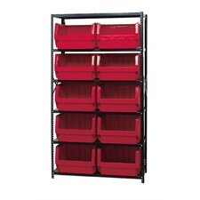 Large 5 Shelf Giant Open Hopper Magnum Storage Unit