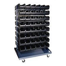 Conductive Double Sided Steel Rail Rack with Optional Mobile Kit