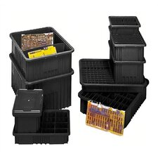"Conductive Dividable Grid Storage Containers (8"" H x 17 1/2"" W x 22 1/2"" D) (Set of 3)"