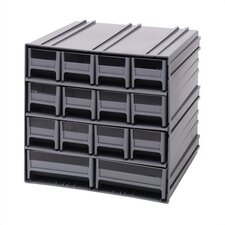 14 Drawer Interlocking Storage Cabinet