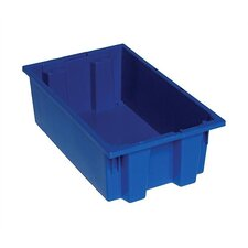 "Stack and Nest Storage Totes (6"" H x 11"" W x 18"" D) (Set of 6)"