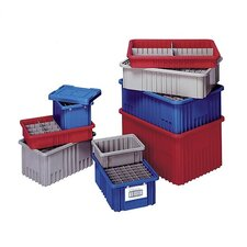 "Dividable Grid Storage Containers (3 1/2"" H x 8 1/4"" W x 10 7/8"" D) (Set of 20)"
