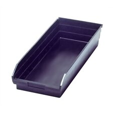 "Recycled Shelf Bin (4"" H x 8 3/8"" W x 23 5/8"" D) (Set of 6)"