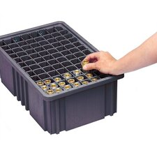 Conductive Dividable Grid Storage Container Long Dividers for DG92035CO (Set of 6)