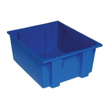 """Stack and Nest Storage Tote (10"""" H x 19 1/2"""" W x 23 1/2"""" D) (Set of 3)"""