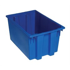 "Stack and Nest Storage Tote (12"" H x 15 1/2"" W x 23 1/2"" D) (Set of 3)"