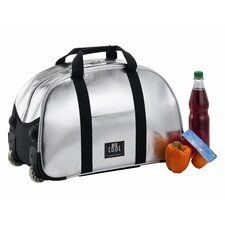 "45L Trolley-Bag ""Be Cool"" in Silber / Schwarz"