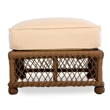 Vineyard Ottoman with Cushion