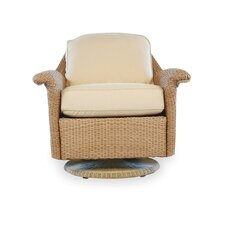 Oxford Swivel Glider Lounge Chair with Cushion