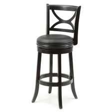 "Florence 29"" Swivel Bar Stool with Cushion"