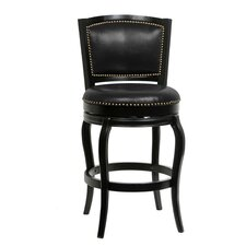 "Harris 29"" Swivel Bar Stool with Cushion"