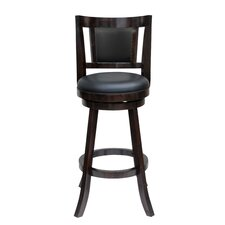"Avianna 29"" Swivel Bar Stool with Cushion"