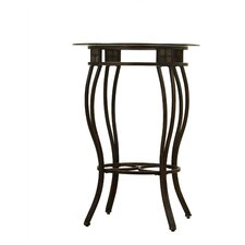 "<strong>Boraam Industries Inc</strong> 42"" Beau Pub Table in Black and Gold"